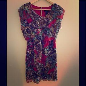 Enfocus Studio Paisley Print Dress